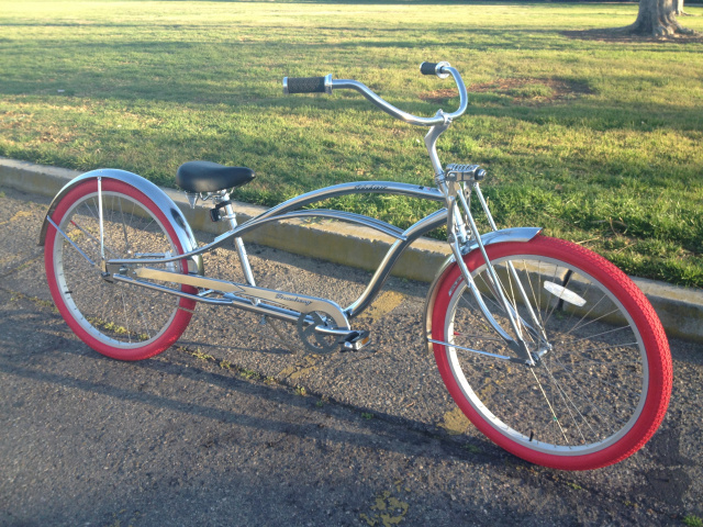 "Urban Deluxe 26"" Stretch Beach Cruiser"