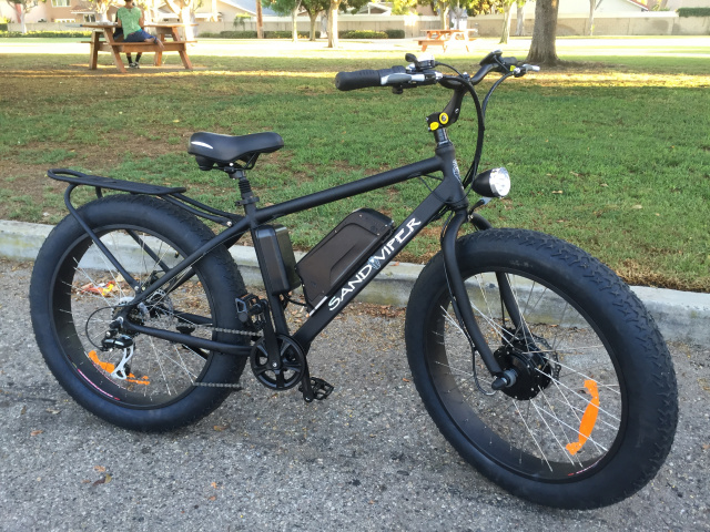 ssr sand viper electric bike